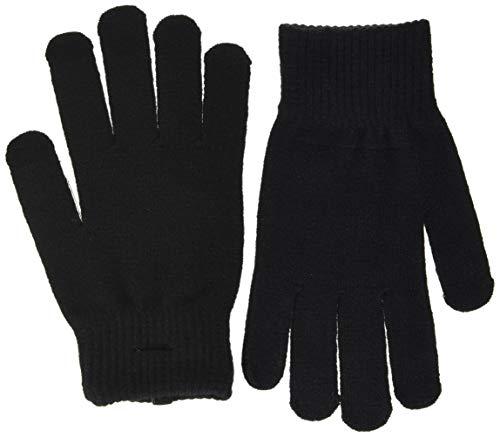 PIECES Damen PCNEW BUDDY SMART GLOVE NOOS BC Handschuhe, Black, ONE SIZE