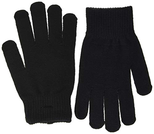PIECES Damen PCNEW BUDDY SMART GLOVE NOOS BC Handschuhe, Black, ONE SIZE