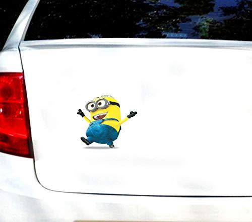 20cm High Personality Auto Styling Schöne Cartoon Yellow Minions Auto Aufkleber Despicable Me Truck Kreative Aufkleber Autozubehör