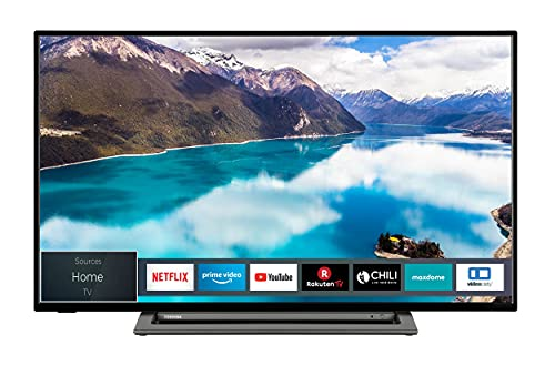 Toshiba 43LL3C63DA 43 Zoll Fernseher (Full HD, Smart TV, Prime Video / Netflix, Bluetooth, WLAN, Triple Tuner, Works with Alexa)