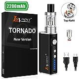 Cigarette Electronique Kit Complet, Lovaper 60W E Cigarettes électroniques avec Box Mods Batterie 2200mAh & Vape avec...