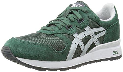 ASICS Zapatillas de moda Gel Epirus para hombre, verde (Verde oscuro/Gris suave), 40.5 EU
