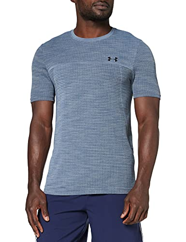 Under Armour Vanish Seamless Shortsleeve Nov 1 T-Shirt Homme Rouge FR : M (Taille Fabricant : MD)