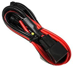 iJDMTOY H11 880 890 Relay Wiring Harness For Xenon Headlight Kit, Add-On Fog Lights, LED Daytime Running Lamps and more
