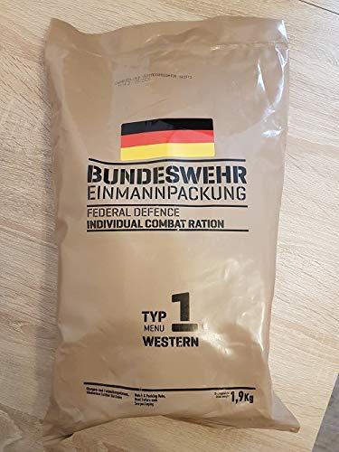 Armee Bundeswehr EPA Western 1 BW MRE EINMANNPACKUNG Camping Essen Food Meal