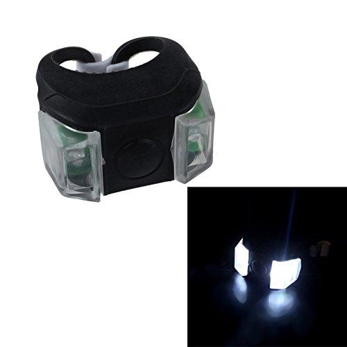Schiffe aus Deutschland, TriLance USB Aufladbar Fahrradlicht, StVZO Zulassung Fahrradlampe Aus Aluminium LED, Fahrradbeleuchtung Set Wasserdicht 8 Licht-Modi Frontlicht und Rücklicht Set