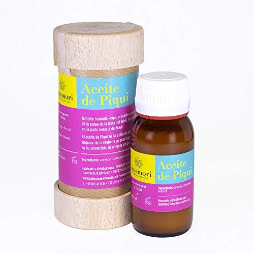 OMAMORI PIQUI OIL. (60 ML). 100% natural and vegan. Brazil's sun tanning and protective fruit.