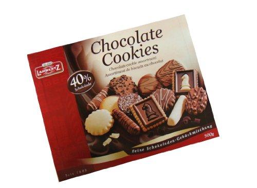 Lambertz Chocolate Cookies 40%Schokolade, 4er Pack (4 x 500 g Packung)