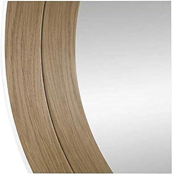 Colore Nero 36x126 cm BD ART Specchio per Porta Rettangolare