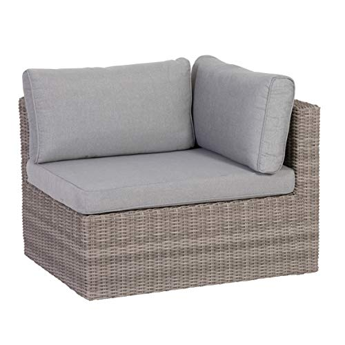 Greemotion Palma Rattan Lounge-Set, grau - 10