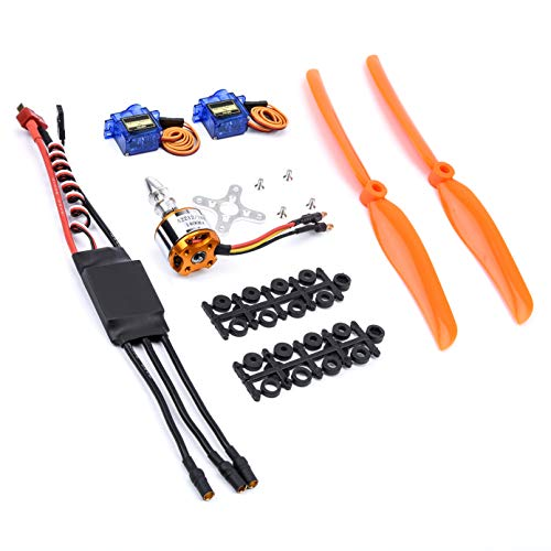 FPVDrone RC A2212 1400KV Brushless Motor+30A ESC+SG90 Servos+8060 Propeller for RC Plane Quadcopter Helicopter Aircraft