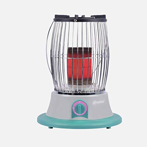 zlw-shop Calefactor Eléctrico Portátil Calentador de terraza Calentador portátil para hogar Indoor Liclfied Gas Grill Estufa Calefactor