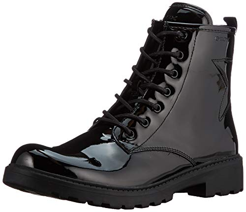 GEOX Junior Girl J CASEY GIRL G BOOT BLACK_36 EU