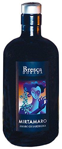 Bresca Dorada Mirtamaro, Amaro Di Sardegna 0.5 L, 3416,  3er Pack (3 x 500 ml)