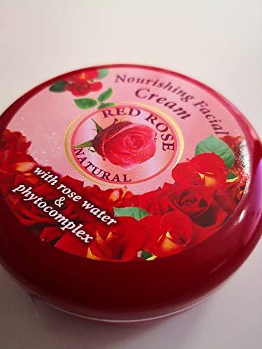 Pflegende Gesichtscreme Red Rose natural