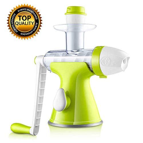 Jugo de limón Exprimidor Exprimidor Exprimidor Naranja Multifuncional, Deluxe Manos Licuadora mantenidos para la Fruta, más rápido, más eficiente jugos