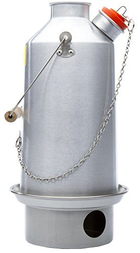 Kelly Kettle Large Anodized Aluminum 54 oz. (1.6 LTR) Rocket Stove