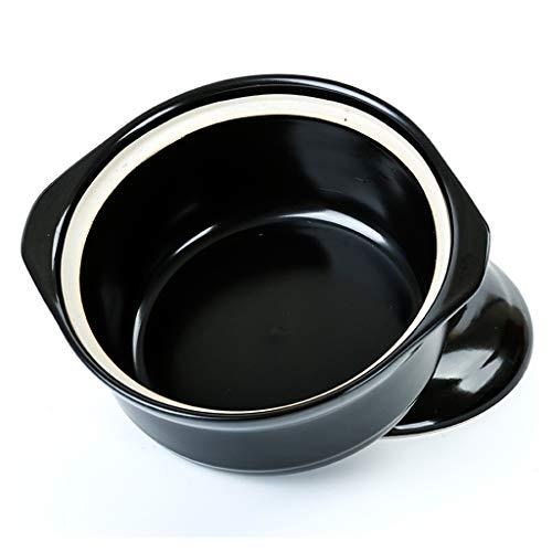 Stoofpot, anti-slip Pan Pap Pot Braadpan Multi-Functie Pot Dubbele Oor Pot Draagbare Pot Zeevruchten Pap Pot 21-25CM 22CM