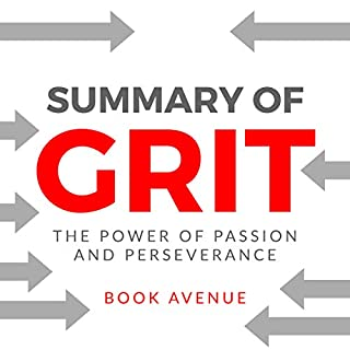 Summary of Grit: The Power of Passion and Perseverance audiobook cover art