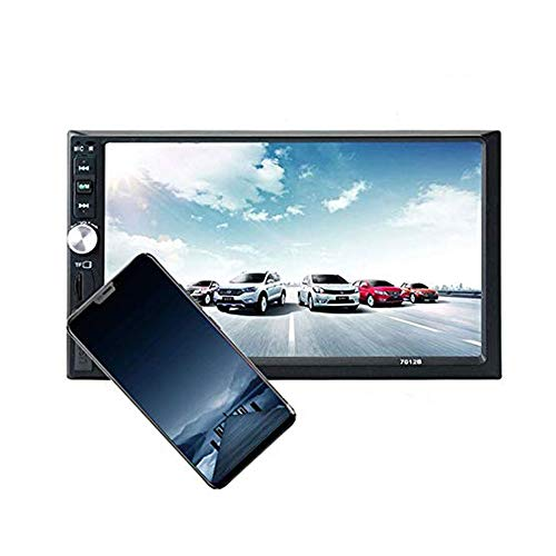 LUOAN AUTO PARTS Lettore autoradio LCD Touch Screen da 7 '' 7012B Bluetooth Autoradio 2 DIN Car Audio Stereo Lettore Cassette Radio Mirror Link