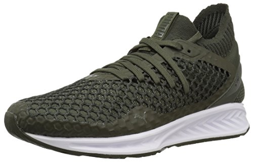 PUMA Herren Ignite Netfit, Forest Night-Castor Grau, 45.5 EU