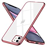 iPhone 11 ケース クリア スリム tpu 透明 ストラップホール付き 耐衝撃 薄型 シリコン Qi充電……