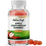 Pure ACV Gummies with Mother for Weight Loss - ACV Apple Cider Vinegar Gummies for Weight Loss Metabolism Booster Detox Cleanse and Appetite Suppressant with Raw Apple Cider Vinegar with the Mother