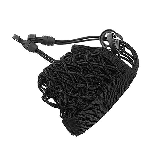 Borsa in rete di stoccaggio 25x 30cm Elastic Motorcycle Bagage Casco per casco ATV. Bike Cargo Box Bag Bag rack Flessibile e scalabile