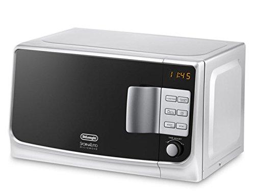 De'Longhi MW20G - Microondas con grill, 1155 W, 20 L, blanco