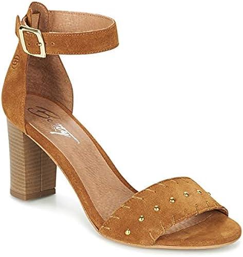 betty london Grady Sandalen Sandaletten Damen Camel - 39 - - - Sandalen Sandaletten  Willkommen zu kaufen