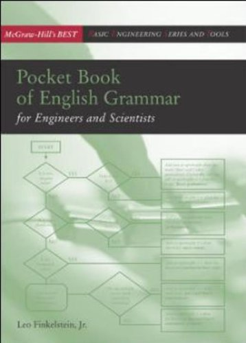 Pocket Book of English Grammar for Engineers and Scientists (MCGRAW-HILL ENGINEERING BEST SERIES)