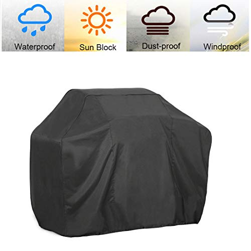 J&C 74-inch XX-Large BBQ Cover Barbecue Gas BBQ Grill Cover Waterproof UV Resistant/Fits Grills of Weber Char-Broil Brinkmann