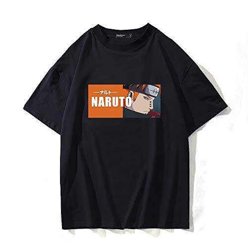 BOBD-DW Naruto,Nagato,Black Summer Cool Skull 3D Printing T-Shirt Designer Tops for Men Short Sleeve Stylish Tees Medium Sale,XS