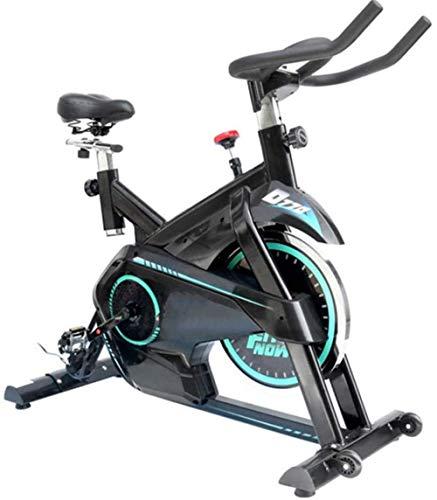 Bicicleta de spinning de interior, bicicleta estática vertical, para interiores, estudios, calidad de estudio, con medidor de frecuencia cardíaca, adecuada para gimnasia en casa