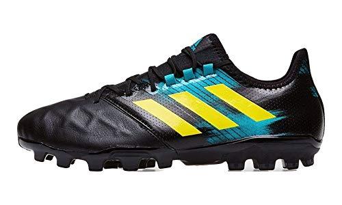 adidas Kakari Light (AG), Scarpe da Rugby Uomo, Nero (Cblack/Shoyel/Hiraqu Cblack/Shoyel/Hiraqu), 46 2/3 EU