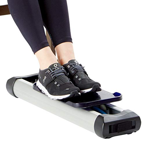 Portable Under Desk Leg Trainer - Tired of Bumping Your Knees Against The Desk While Exercising. LPET is The Solution to Your Problem - Tone Your Leg Muscles, Burn Calories, and Improve Circulation