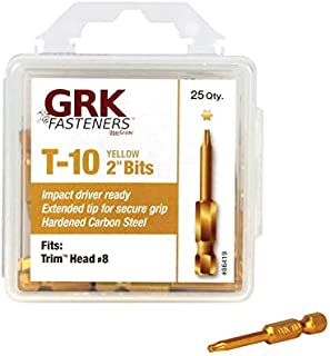 GRK 772691360779 8 by 2-Inch Containing 1pail Equal to 600 Screws Trim SS Propack