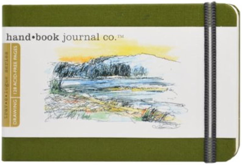 GlobalArt Zeichenblock Zeichenheft   Skizzenbuch, Cadmium Grün, Pocket Landscape B0025TZ0GS  | Spielzeugwelt, glücklich und grenzenlos
