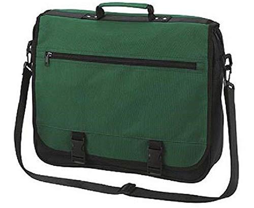 Umhängetasche Business grün Schultertasche, Umschlagtasche, Aktenmappe, Aktentasche, Business Tasche