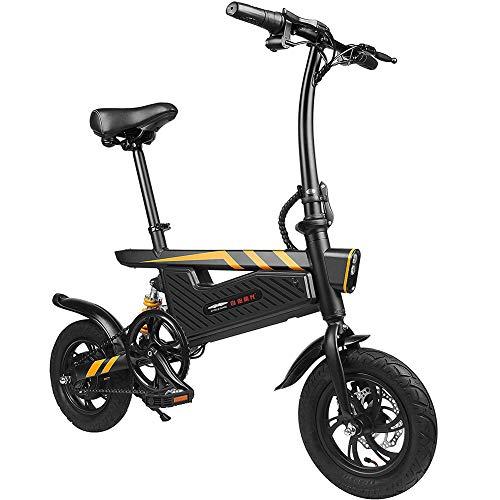 GUOJIN Bicicleta Electrica 250W Motor Bicicleta Plegable 25 Km/H Bici Electricas Adulto...