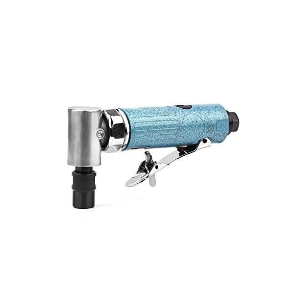 Amoladora neumática de alta calidad, amoladora recta, 25000 R.P.M, con pinzas de 1/4″y 1/8″, en ángulo