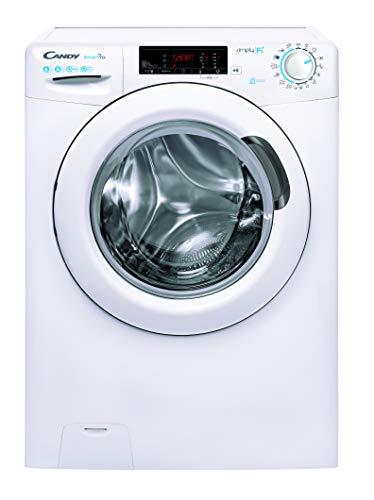 Candy CSO34 1265T3 Waschmaschine / 6 kg / 1200 U/Min/Easy Iron – Dampffunktion/WiFi und Bluetooth/Raumsparwaschmaschine: nur 37,8 cm tief