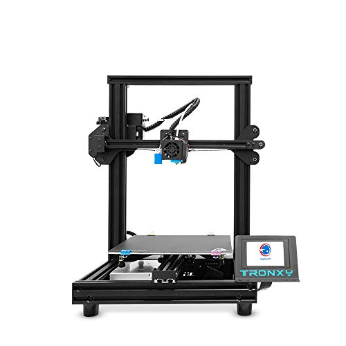 TRONXY XY-2 PRO Titan Can Print TPU Beginner 3D Printer,Print Size 255x255x245mm,Resume Printing Function,Auto Leveling,Filament Detection,PLA/ABS/PETG etc.with Removable Plate,Rapid Heating Bed