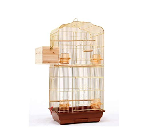 Großer Vogelbeobachtungskäfig, Pet Shop Schule Vogelkäfige Goldene glatte Oberfläche Birdcage In Metall 46 * 36 * 93cm (Farbe: E, Größe: 46 * 36 * 93cm) 8bayfa (Color : B, Size : 46 * 36 * 93CM)