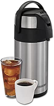 Proctor Silex 3 Liter Vacuum Insulated Hot Beverage Dispenser with Pump