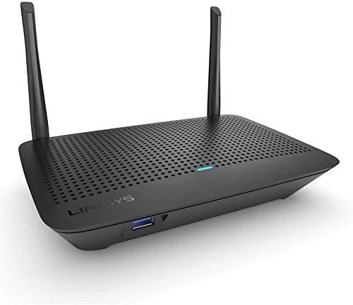Linksys MR6350 Router Wi-Fi 5 Mesh Dual Band, AC1300, Compatibile con il Sistema Wi-Fi per Tutta la Casa Velop, Filtro Famiglia tramite l App Linksys