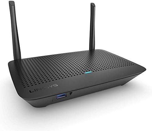 Linksys MR6350 Dual-Band Mesh Wi-Fi 5 Router (AC1300, Compatible with Velop Whole Home Wi-Fi System, Parental Controls via Linksys App)