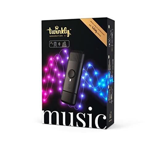 Twinkly - TMD01USB- Chiavetta USB Musicale - Effetti Luminosi Unici Sincronizzati con le tue Canzoni Preferite - Musica per Decorazioni Feste