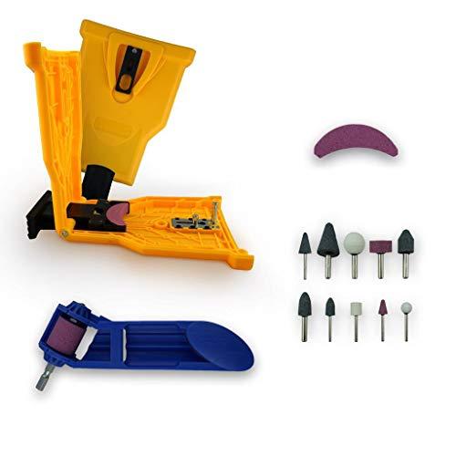 Chainsaw Sharpener Value KIT | Powersharp Chain Saw Blade sharpeners + Electric Drill Bit Files + Sharpening file kit Sthil