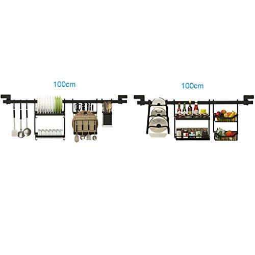 KYSZD-Geschirrtrockner Küchenregale Eckregal Haushaltsgeschirrständer Wandhalterung Regal aus rostfreiem Stahl